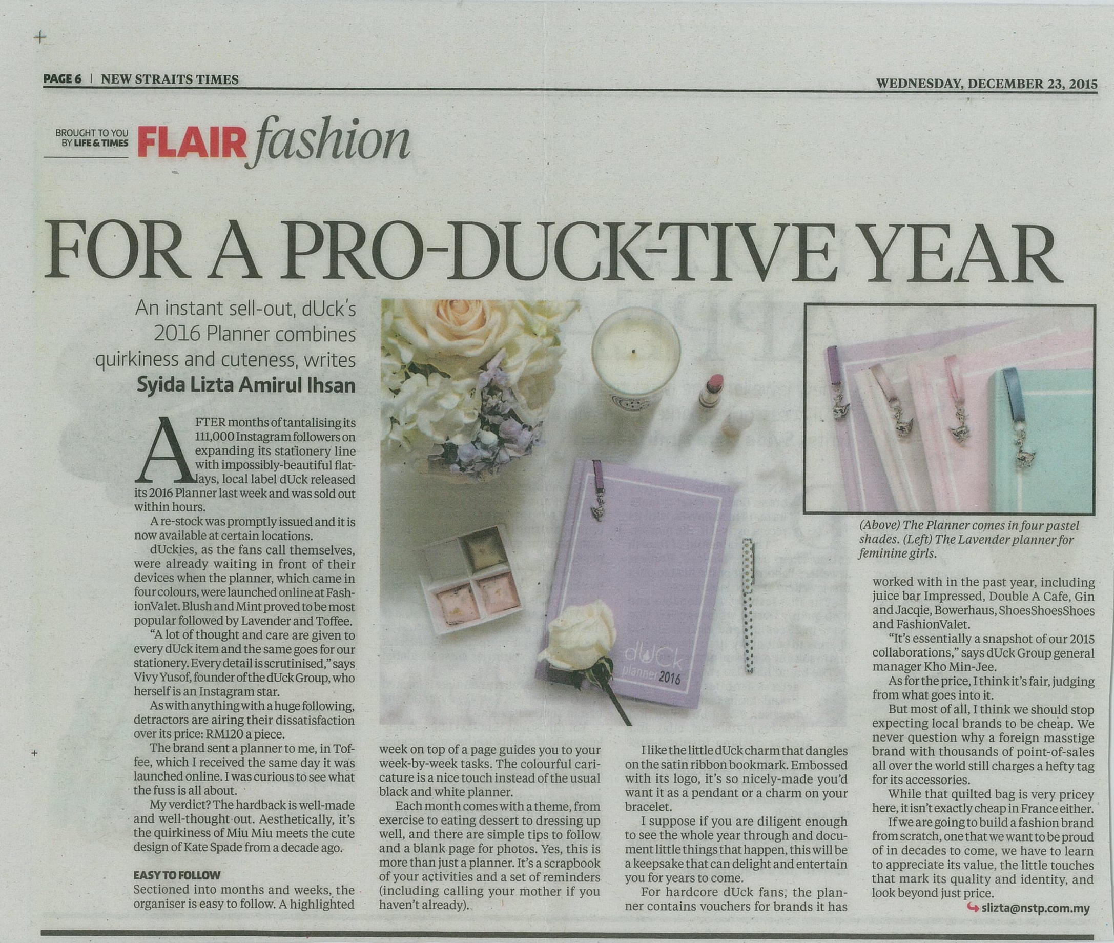 The New Straits Times - December