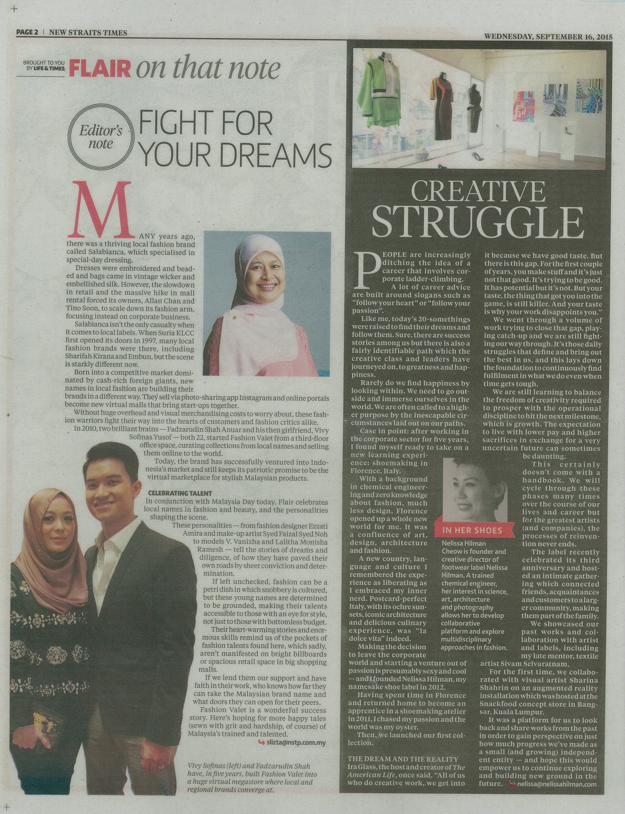 The New Straits Times - September