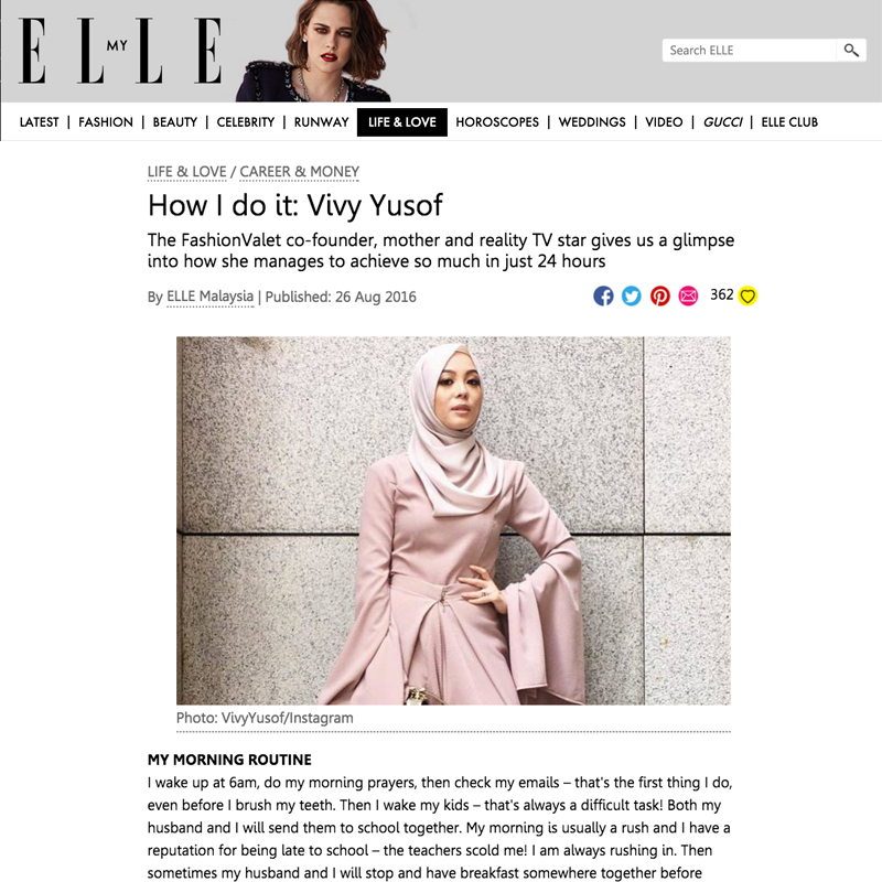ELLE Malaysia - August