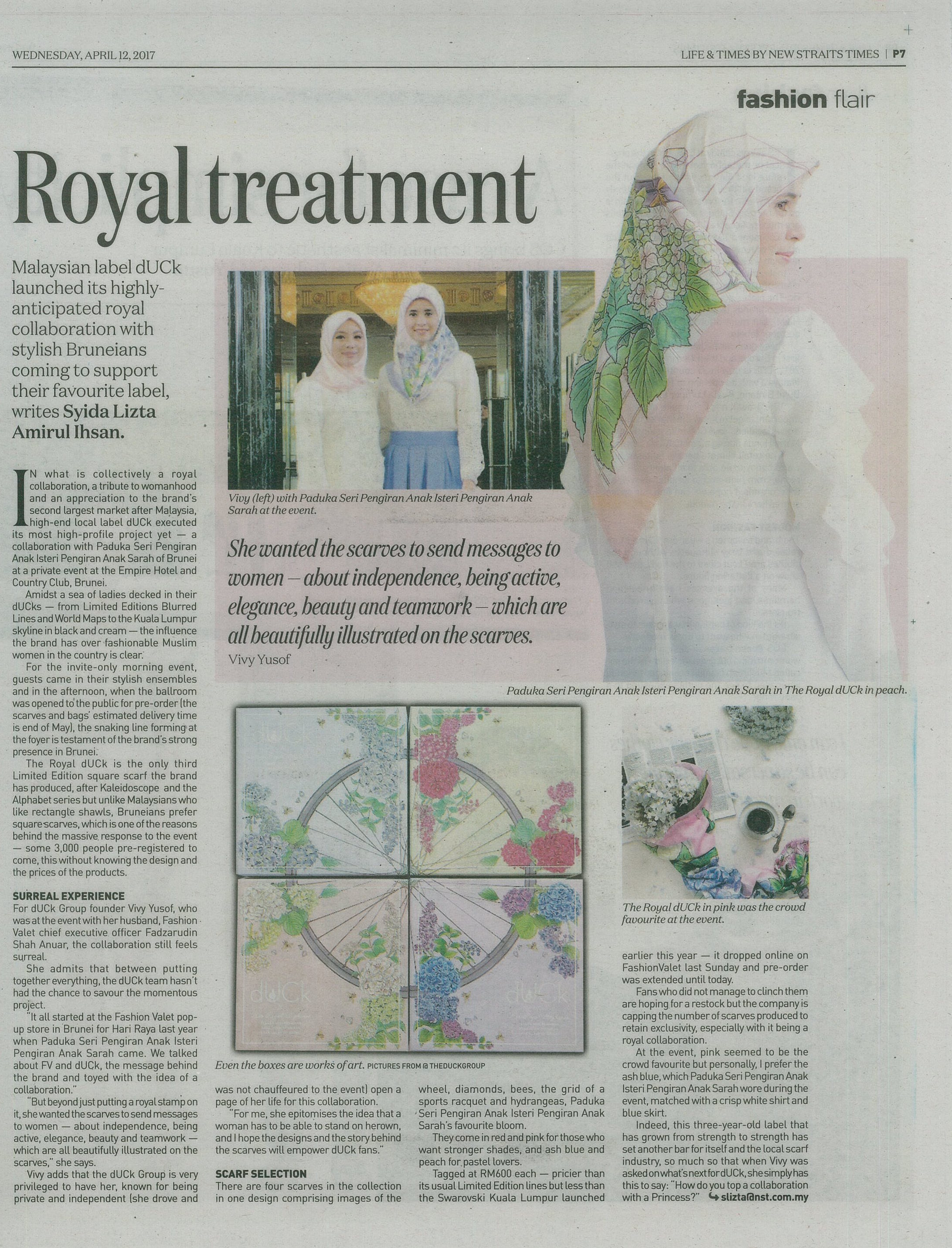 The New Straits Times - April